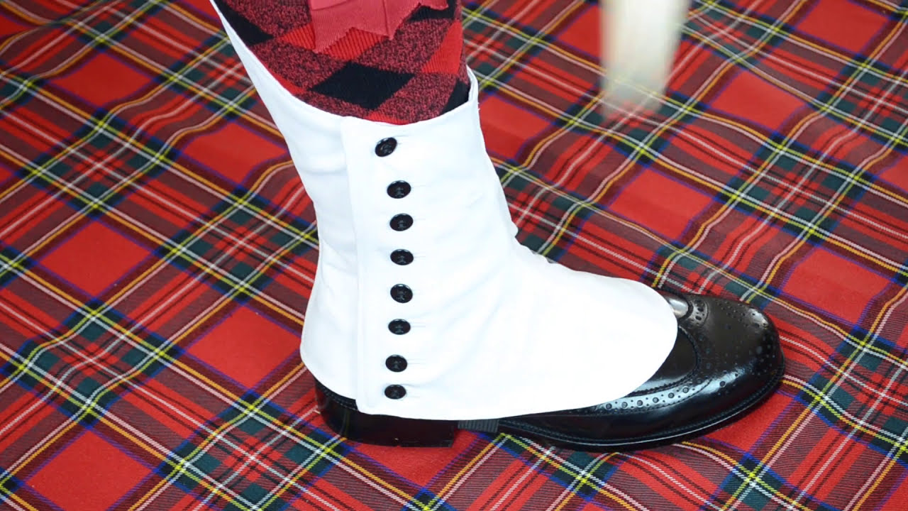Gingham spats