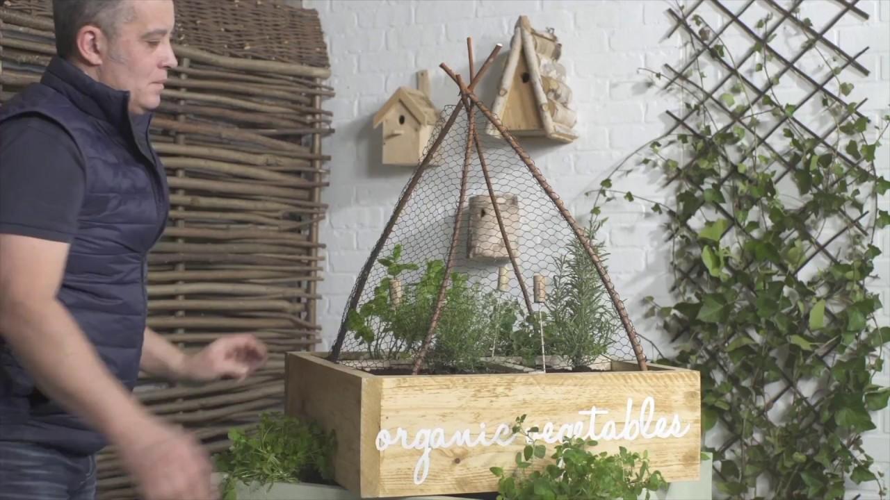 Moestuin Zelf Maken : Zelf een verticale tuin plantenmuur maken buitenlevengevoel