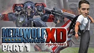 Metal Wolf Chaos Part 1 - Funhaus Gameplay