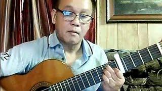 Ngậm Ngùi (Phạm Duy - thơ: Huy Cận) - Guitar Cover by Hoàng Bảo Tuấn