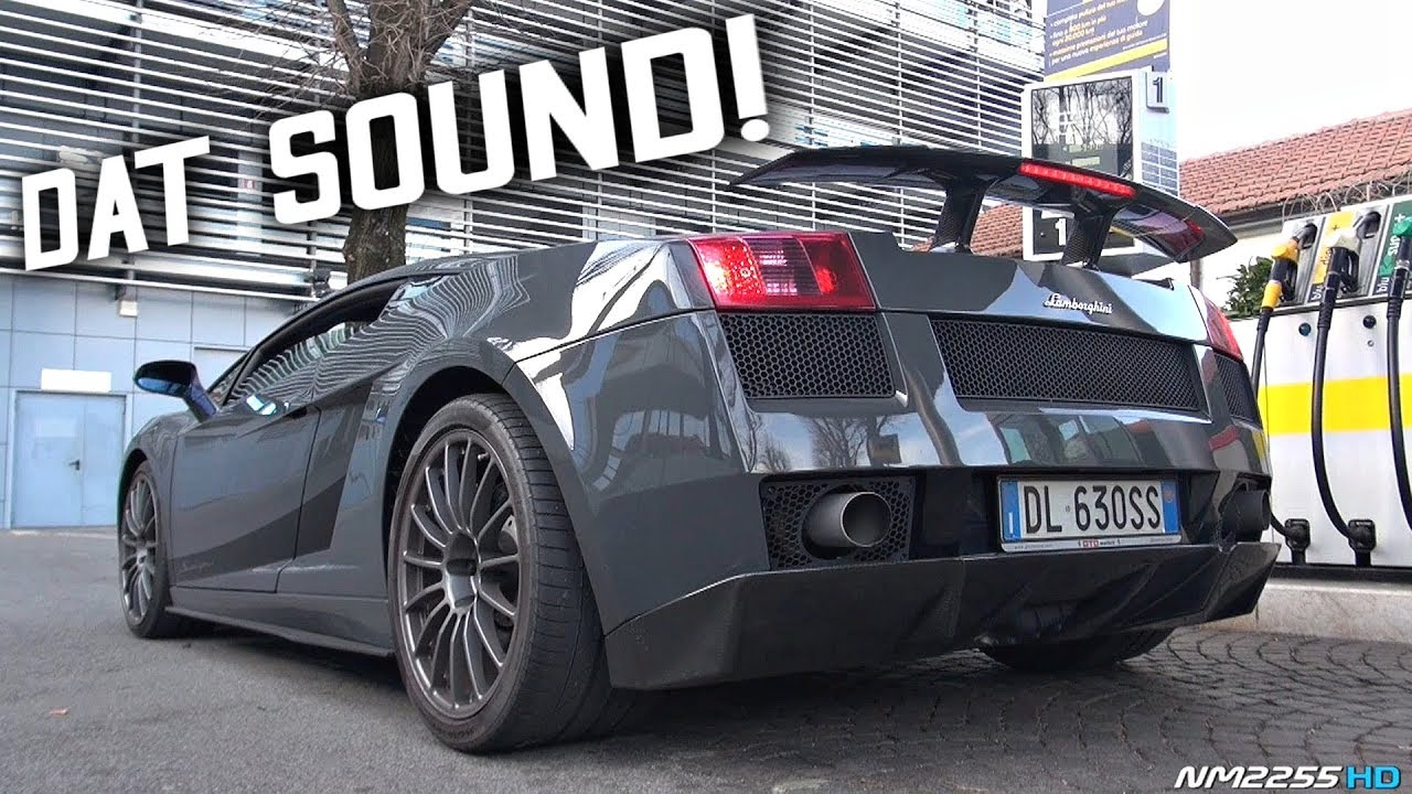 Best Sounding V10 Lamborghini Ever Made 2008 Lamborghini Gallardo