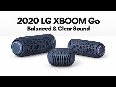 2020 LG XBOOM Go PL7 l Balanced & Clear Sound