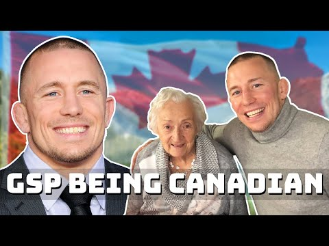 Georges St Pierre Being Canadian..