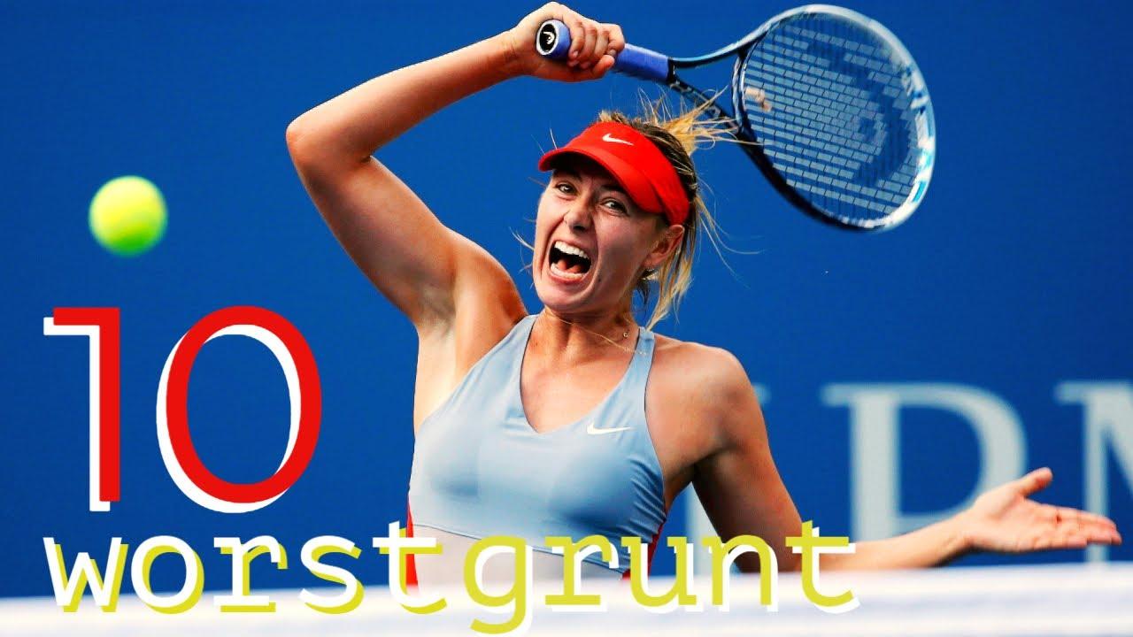 Download Top 10 Worst Grunts in WTA History