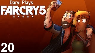 Daryl Plays Far Cry 5 - He threatened me with a knife sharpener! (Part 20)