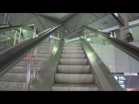 Hungary, Budapest Ferenc Liszt International Airport Terminal 2, 4X escalator