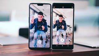 OnePlus 6 VS Pixel 2 XL CAMERA COMPARISON!