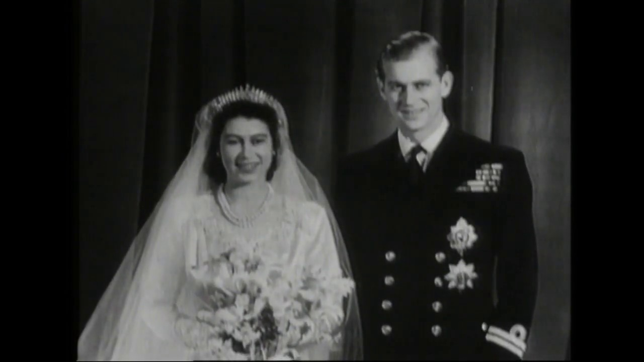 a878c5bc47a2b Flashback: The wedding of Princess Elizabeth and Philip Mountbatten in 1947