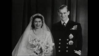 Flashback: The wedding of Princess Elizabeth and Philip Mountbatten in 1947