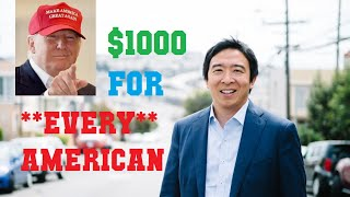 $1000 For Every American | UBI Explained (FOR CONSERVATIVES) | Andrew Yang's Freedom Dividend