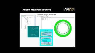 Видеоурок CADFEM VL1125 - Проектирование электрических машин в ANSYS