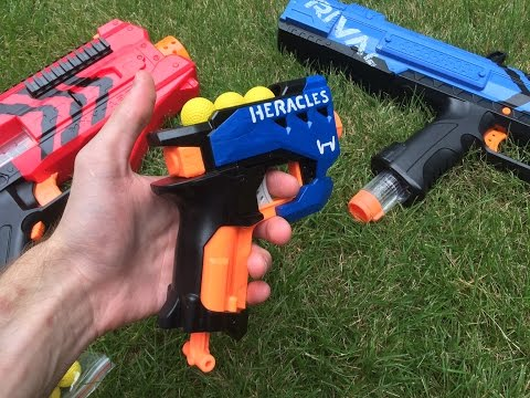 Thumbnail: Nerf Mod: The Rival Heracles (First Nerf Rival Pistol/Sidearm)