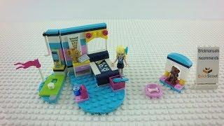 41328 LEGO® Friends Stephanie´s Bedroom Speed Build Review 4K by Brickmanuals