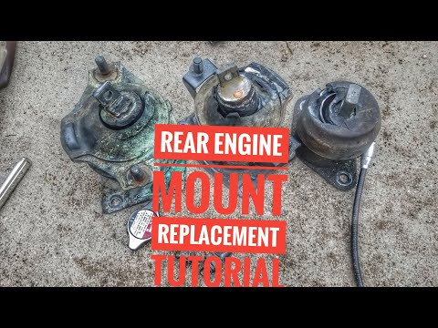 HOW TO REPLACE REAR ENGINE MOUNT REPLACEMENT TUTORIAL