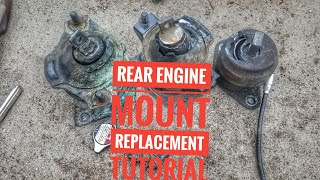 HOW TO REPLACE REAR ENGINE MOTOR MOUNT REPLACEMENT TUTORIAL