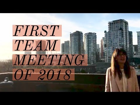 A Day in the Life of Team Jilly  Our First Team Meeting of 2018