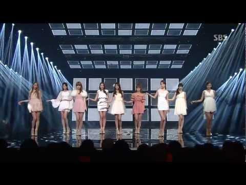 130127 Nine Muses - 注視 + Dolls @ Comeback Stage