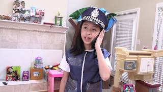 Pretend Play Police Scary Mystery Finding