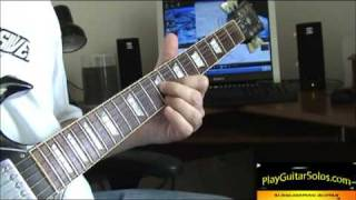 Learn How to Play Guitar Solos - Call Me The Breeze