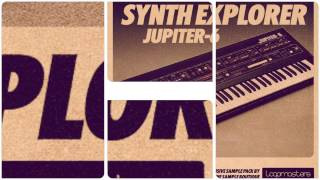 Synth Explorer Jupiter-6 - Loops One Shot Samples