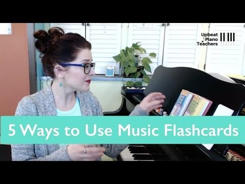 FFL31: Five Ways to Use Music Flashcards