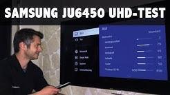 Im Test: Samsung 55JU6450, 65JU6450 Serie 6 der UHD 4K TV Fernseher 2015 JU6450UXZG