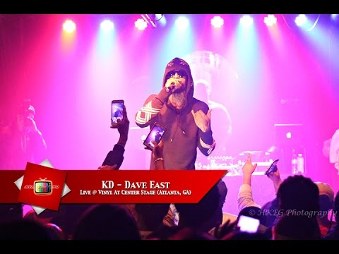 Kd Dave East Live Vinyl At Center Stage Atlanta Ga