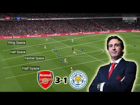 How Unai Emery Turned The Game in the Second Half | Arsenal vs Leicester 3-1 Tactical Analysis