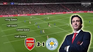 Download Video How Unai Emery Turned The Game in the Second Half | Arsenal vs Leicester 3-1 Tactical Analysis MP3 3GP MP4