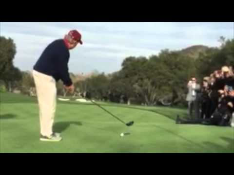 Jack Nicklaus and actor Craig T. Nelson at Sherwood Country Cub