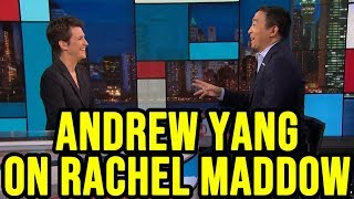 Andrew Yang on The Rachel Maddow Show | Full Interview October 17th 2019