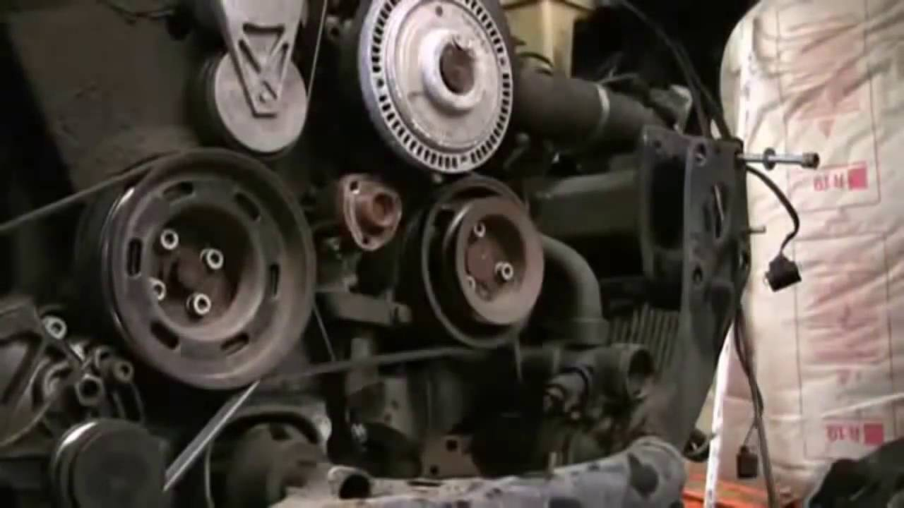 How To Properly Replace The Timing Belt On Audi A4 Youtube