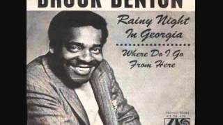 Watch Brook Benton Rainy Night In Georgia video