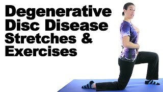 Degenerative Disc Disease (DDD) Stretches & Exercises - Ask Doctor Jo