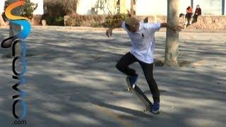 Cómo hacer un frontside y backside con el skate