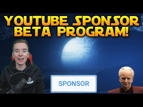 CHANNEL UPDATE: A new way to support the channel! - YouTube Sponsorship Beta Program!