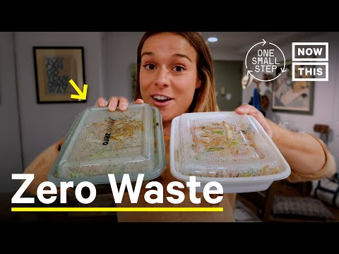 I Tried Zero Waste Take-Out (DeliverZero)   One Small Step   NowThis Earth