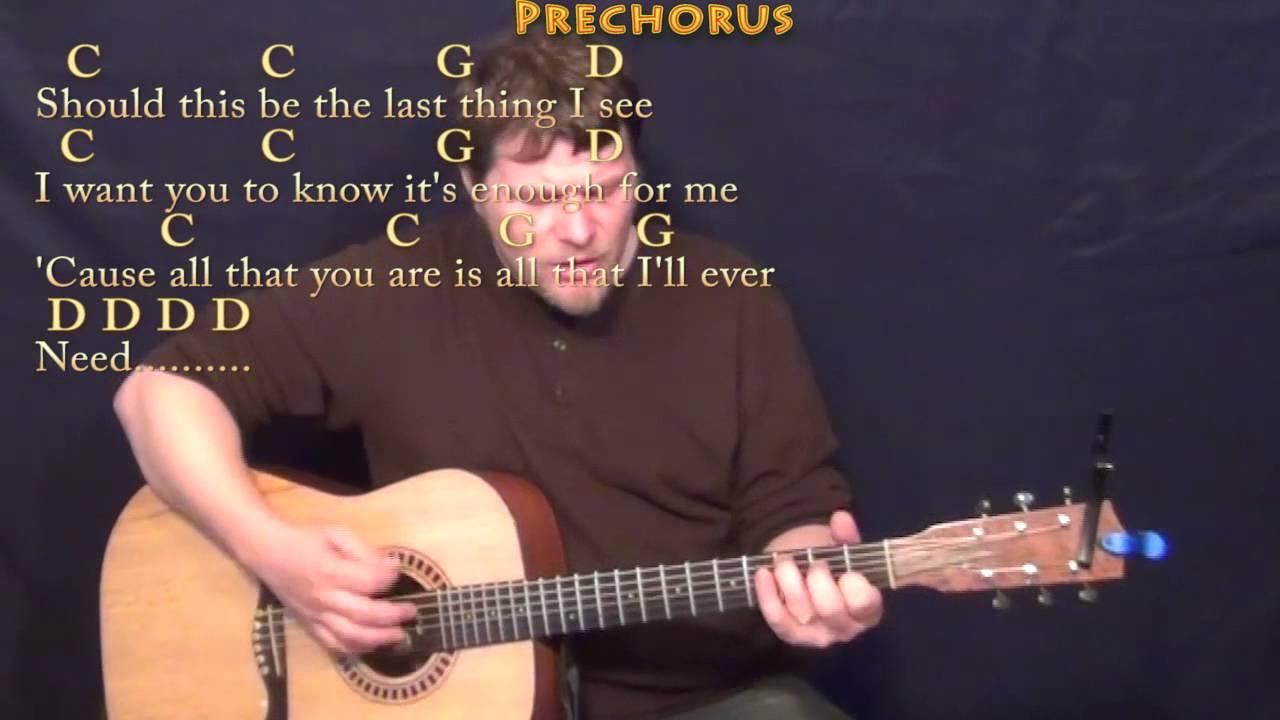 Tenerife Sea Ed Sheeran Strum Guitar Cover Lesson with Chords/Lyrics