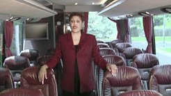 Pro-Tran Charter Bus Features