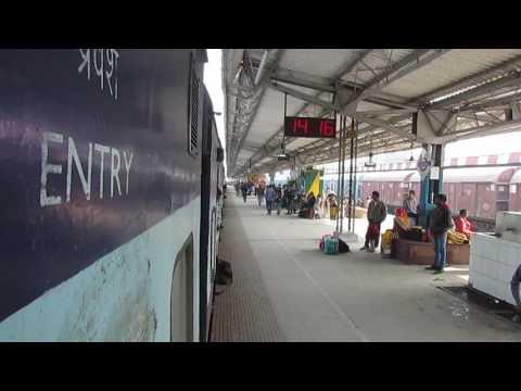 12554 VAISHALI Super Fast Express Arriving At DEORIA SADAR, UP!