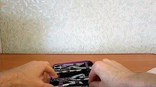 Розпакування Манікюрного набору Zauber manicure (ZBR 068) з Rozetka.com.ua