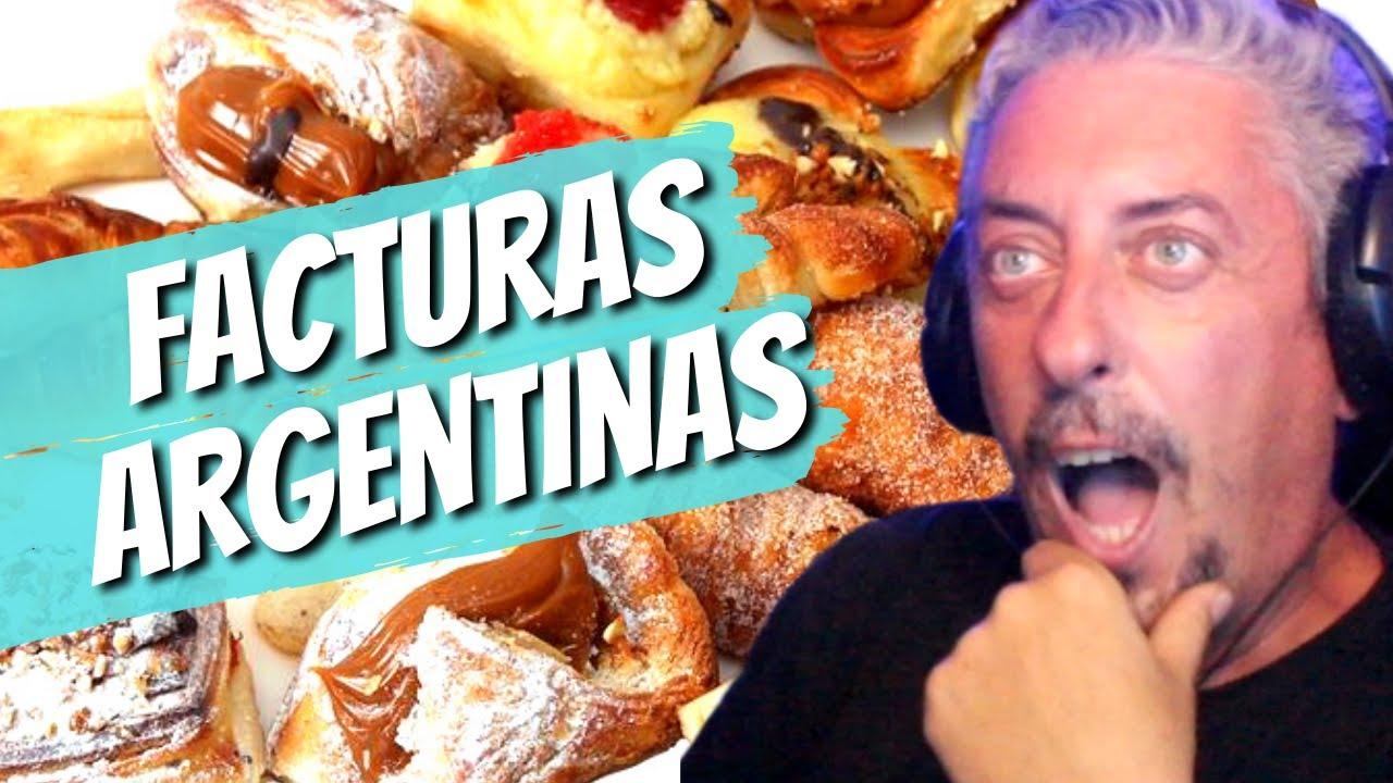 Español se sorprende con el origen de las Facturas Argentinas/Reacción/Cosas de Rafa