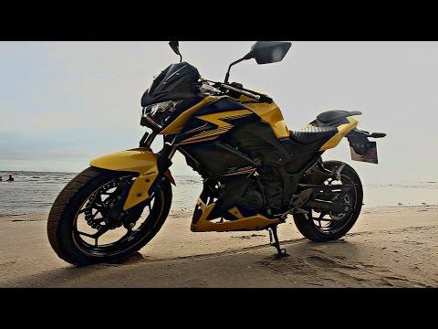 [Teaser] Kawasaki Z300 Test Ride : ขี่ทดสอบ คาวาซากิ แซท 300 ใหม่