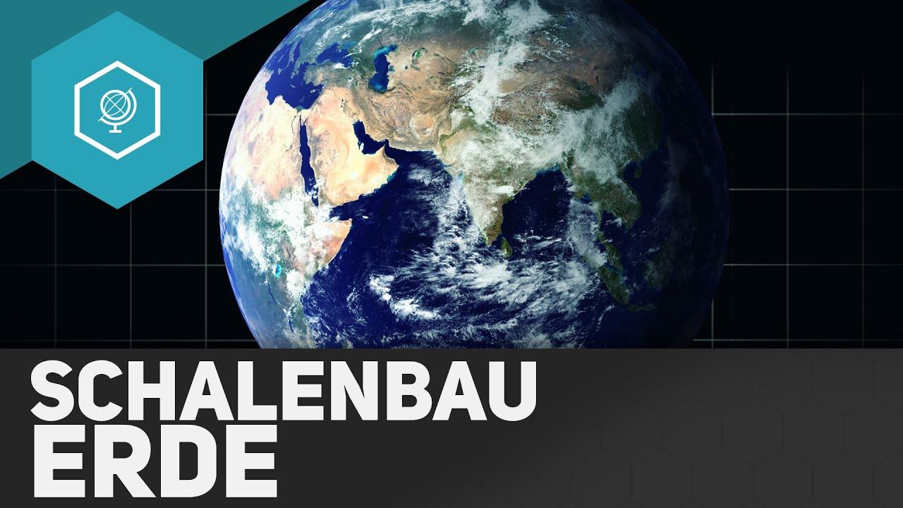 Schalenbau der Erde: Aufbau Erdschichten - Plattentektonik & Vulkane ...