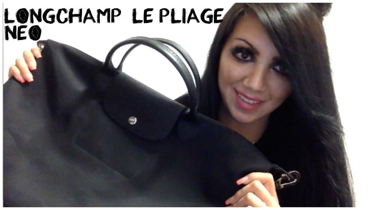 Longchamp Le Pliage Neo | REVIEW & What Fits Inside!!!