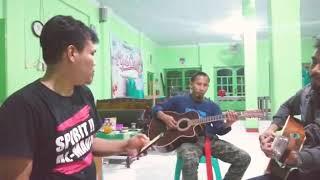 Menunggu kamu - Anji (cover) by acustic Fascho band
