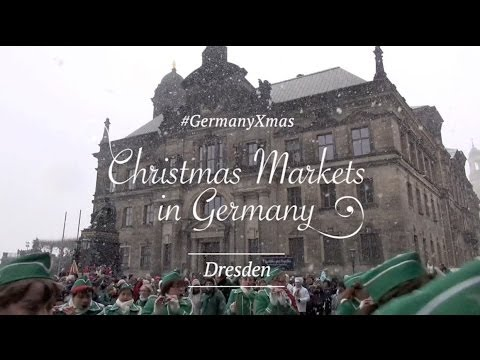 #GermanyXmas - Christmas Markets in Germany - Dresden