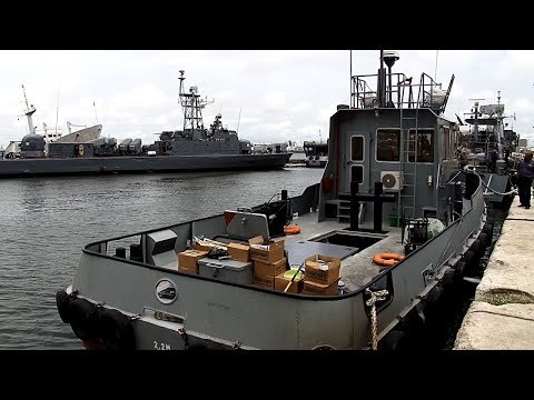 Nigerian Navy Builds First Tug Boat