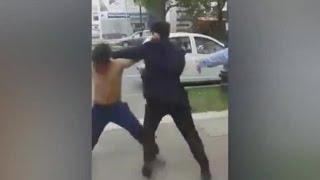 Guardia se enfrentó a golpes con ladrón en Viña del Mar - CHV Noticias
