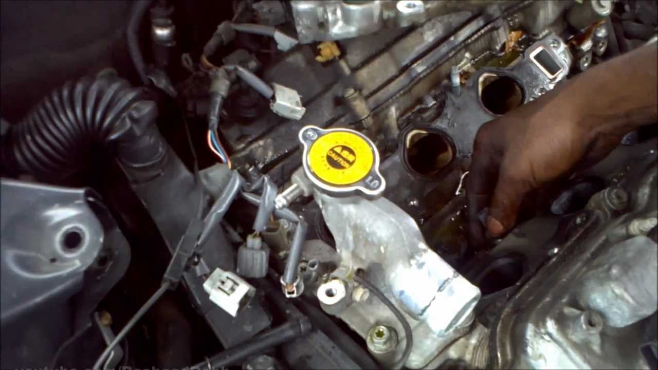 2000 Lexus Es300 Knock Sensor Location Repair Youtube 2001 Toyota Highlander Engine Diagram